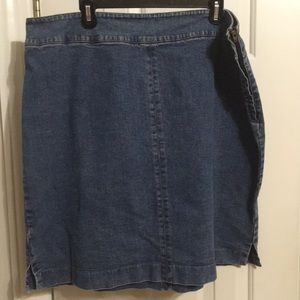 Lauren jeans company denim skirt